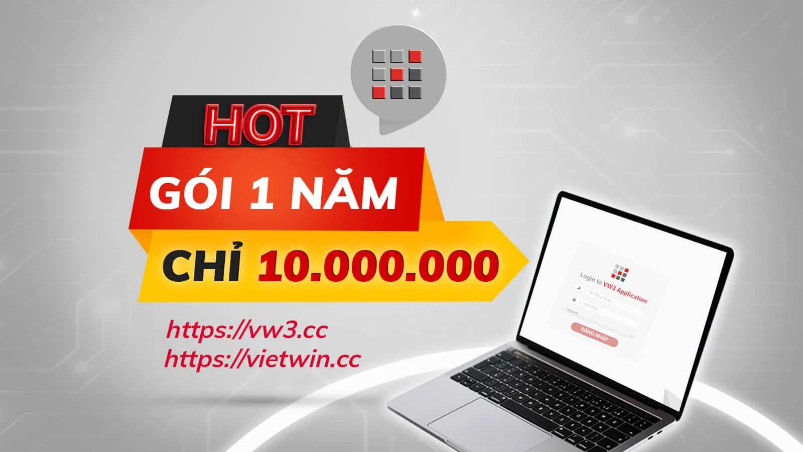 VietWin công bố giá bán PMKT mới 2021 cực HOT